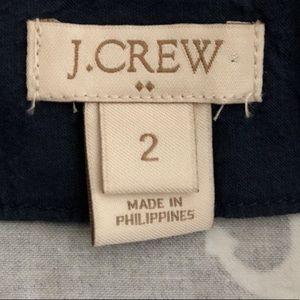 J. Crew Skirts - J. Crew Navy Anchor Print Cotton Skirt